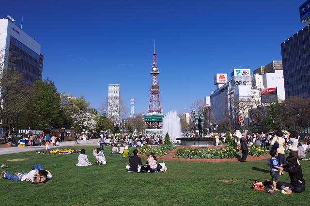 札幌のランドマークテレビ塔もばっちり!