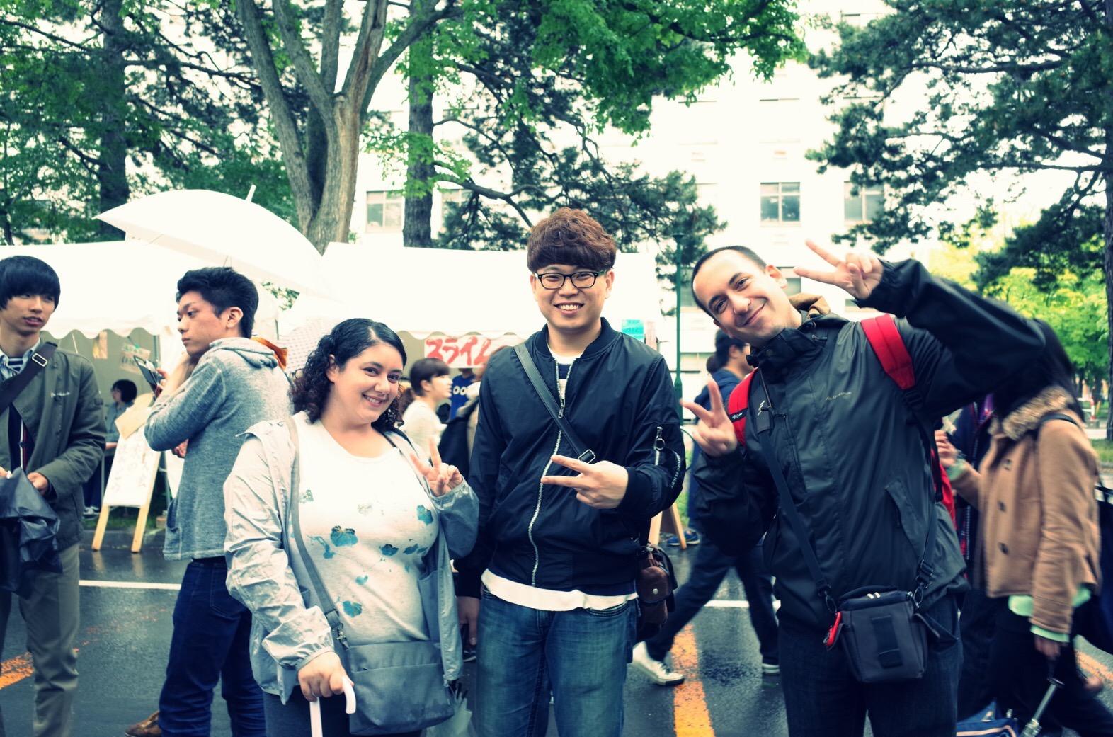 写真は以前の北海道大学祭のものです!