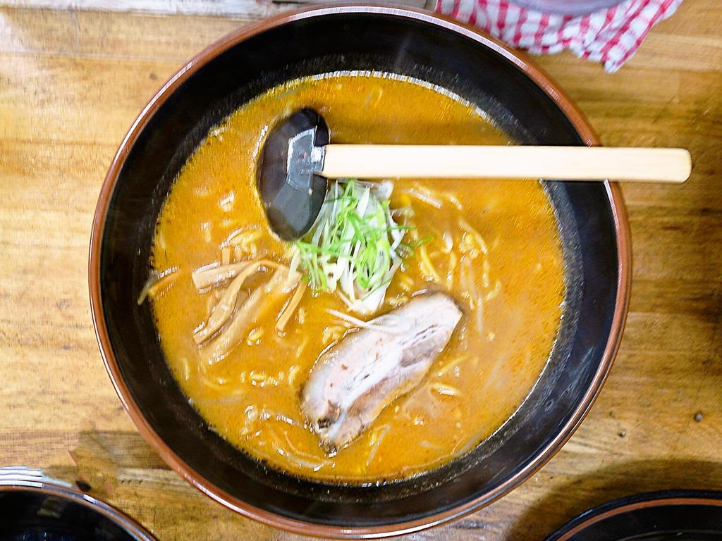 定番でオススメはラーメン信玄!!Ramen Shingenis the most familiar for Sapporo ramen!!!